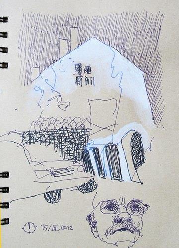 Reiner Poser, Das Haus und sein Erbauer, Architecture, De Stijl