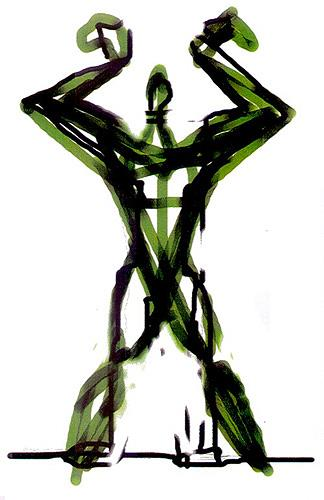 Reiner Poser, I Am The Greatest!, Abstract art