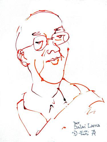 Reiner Poser, Der Dalai Lama, People: Men, Spurensicherung