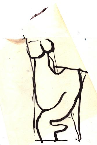 Reiner Poser, Just a scribble, Miscellaneous People, Minimal Art