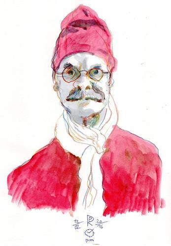 Reiner Poser, Der Eigentümer dieser Galerie, People: Portraits, Spurensicherung, Expressionism