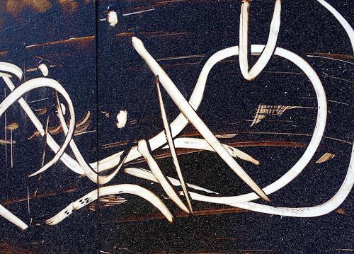 Reiner Poser, Wilde Zeiten II, Abstract art, Minimal Art