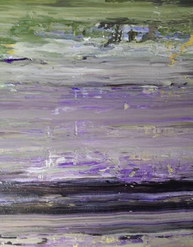 Reiner Poser, Der Mondsee, Abstract art, Radical Painting