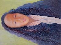Reiner-Poser-People-People-Women-Modern-Age-Expressive-Realism
