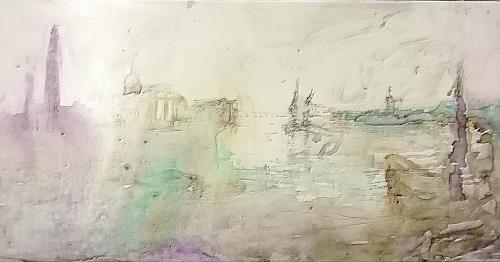 Reiner Poser, Venice, my Love, Landscapes, Expressionism