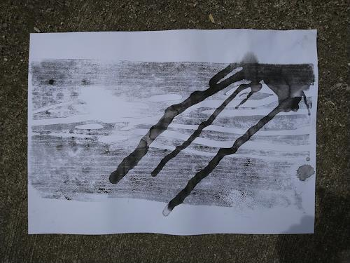 Reiner Poser, Signs from an Alien, Abstract art, Non-Objectivism [Informel]