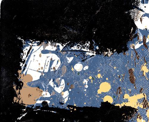 Reiner Poser, Die Eisscholle, Abstract art, Abstract Art
