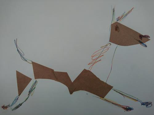 Reiner Poser, Jumping foal, Burlesque, Art Brut