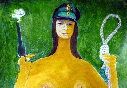 Reiner Poser, Freiheitsstatue der Neuzeit, The world of work, Expressive Realism