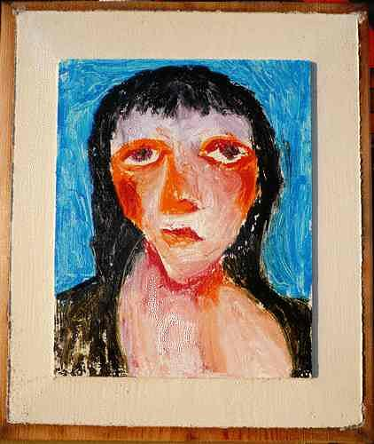 Reiner Poser, Oh no, that's not true...?!, People: Faces, Neo-Expressionism