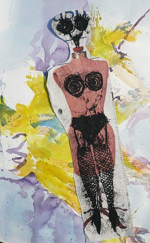 Reiner Poser, Before Catwalk, Abstract art, Pluralism, Abstract Expressionism