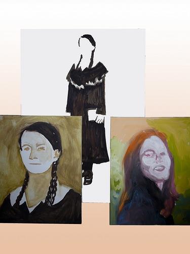 Reiner Poser, Mutter und Tochter, People: Faces, People: Women, Neue Sachlichkeit