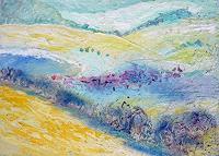 Reiner-Poser-Landscapes-Hills-Modern-Age-Expressive-Realism