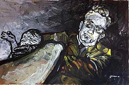 Nikolaus Pessler, Gratuliere Frau Hitler - es ist ein gesunder Junge., Miscellaneous, Contemporary Art, Abstract Expressionism