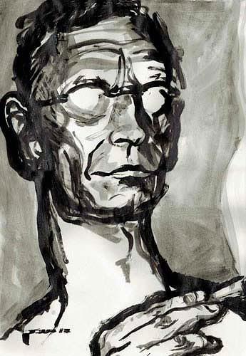 Nikolaus Pessler, Hesse zittharthe immer nach Konsum von Gräser ...., Miscellaneous, Contemporary Art