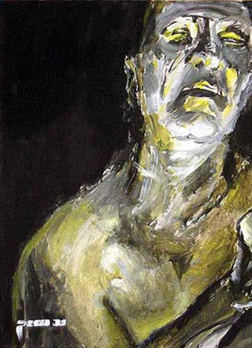 Nikolaus Pessler, Nächtens ..., Miscellaneous, Contemporary Art, Abstract Expressionism