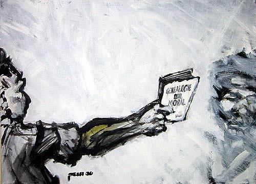 Nikolaus Pessler, Pfeif auf Nietzsche, Miscellaneous, Contemporary Art
