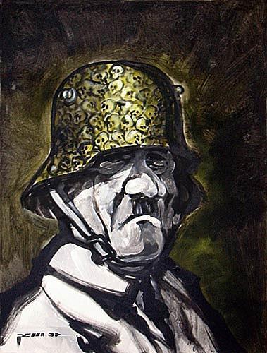 Nikolaus Pessler, Der Mann mit dem goldenen Parteiabzeichen ..., History, Contemporary Art