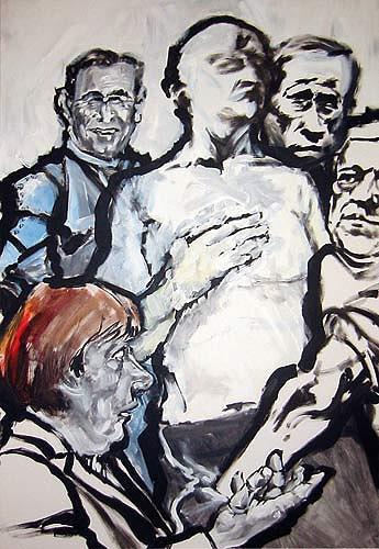 Nikolaus Pessler, Die Entkleidung des europäischen Steuerzahlers...., Miscellaneous, Contemporary Art