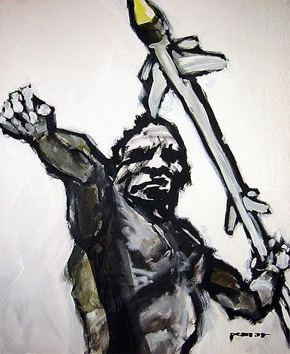 Nikolaus Pessler, modern aborigine ..., Miscellaneous, Contemporary Art