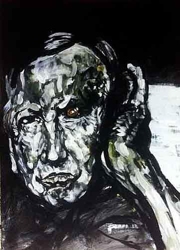 Nikolaus Pessler, Immer wenn Rauschenberg ...., Miscellaneous, Contemporary Art, Abstract Expressionism