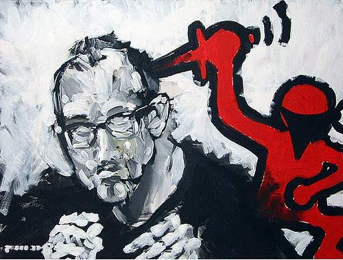 Nikolaus Pessler, the assassination of keith haring ..., Miscellaneous, Contemporary Art