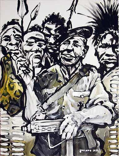 Nikolaus Pessler, Kongo-Müller mit Tarzan´s Fell ..., Miscellaneous, Contemporary Art