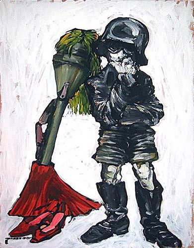 Nikolaus Pessler, Klein-Lagerfeld war ein Werwolf ....., Miscellaneous, Contemporary Art