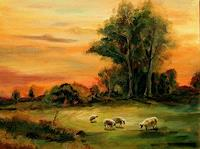 Weiss-Stefan-Landscapes-Plains-Animals-Land-Modern-Age-Naturalism