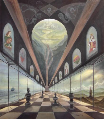 Weiß Stefan, Spiel des Lebens, Fantasy, Surrealism