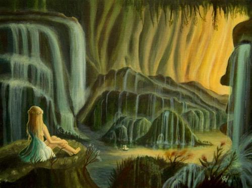 Weiß Stefan, Cascadia, Fantasy, Fairy tales, Romanticism