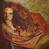 FrederiqueK-People-Women-Modern-Age-Expressionism-Neo-Expressionism