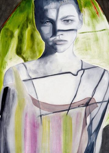 FrederiqueK, Mariée, Fantasy, Fashion, Contemporary Art, Expressionism