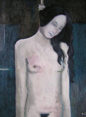 Katrin Ginster, Und der Sommer ist schon wieder vorbei, Death/Illness, Abstract Expressionism