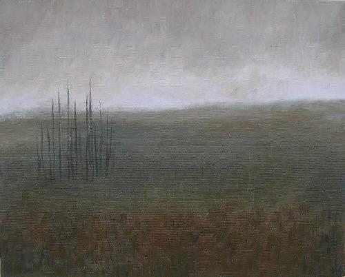 Katrin Ginster, feld, Landscapes: Winter, Contemporary Art