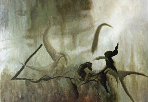 Katrin Ginster, Das Leichte und das Schwere, Abstract art, Contemporary Art, Abstract Expressionism