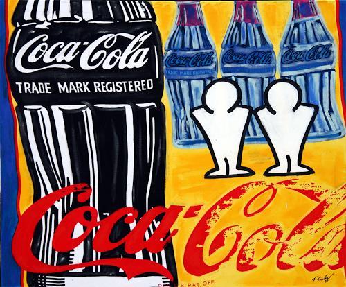 Francis Tucker, Andy und fFrancis trinken gerne Cola, Symbol, Decorative Art, Pop-Art