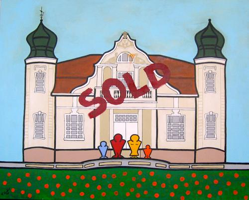 Francis Tucker, Cebulowy Sold, Buildings: Houses, Architecture, Pop-Art