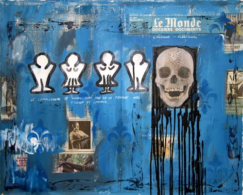 Francis Tucker, Begegnung der ungelösten Fahrkarte, Society, Pop-Art