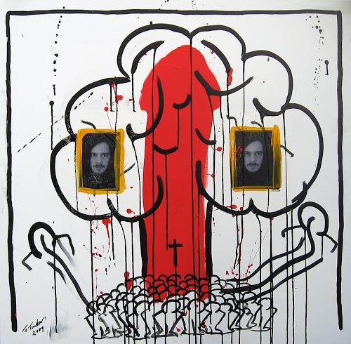 Francis Tucker, Apocalypse 2009 I, Mythology, Society, Pop-Art