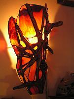 P. Mouzakiti, wandlampe