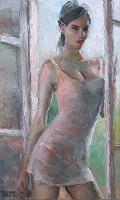T. Kienscherf, Girl at the Window
