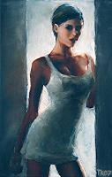T. Kienscherf, Girl in the Shade