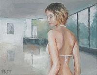 Thore Kienscherf, Girl in Bright Room