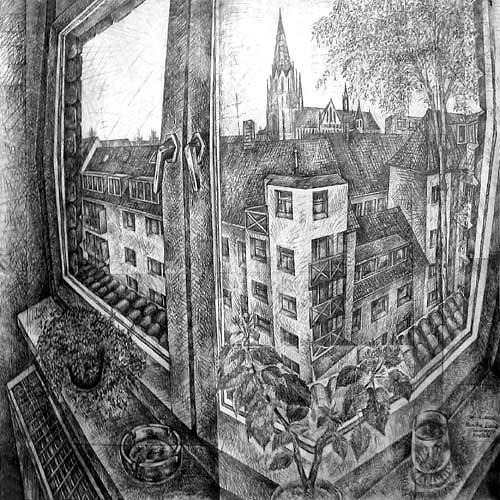 Monika Lassak, Fabrikstrasse, Krefeld, Interiors: Rooms, Interiors: Rooms, Realism, Expressionism