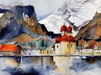 Berthold-M.-Rubenbauer-Landscapes-Mountains-Contemporary-Art-Contemporary-Art