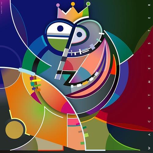 Bernd Wachtmeister, Bubble King, Fantasy, Humor, Contemporary Art