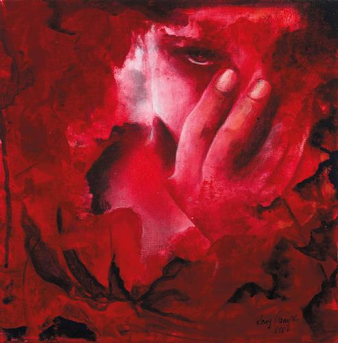 Romy Campe, oh mein Gott..., Emotions: Fear, Miscellaneous People, Contemporary Art, Expressionism