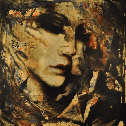 Romy Campe, JOKAIA, People: Portraits, Miscellaneous Emotions, Abstract Expressionism