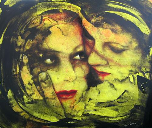 Romy Campe, Pieta, Miscellaneous Emotions, People: Faces, Contemporary Art, Expressionism